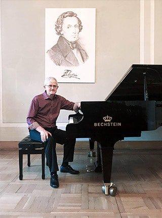 Maciej Poliszewski Pianist photo